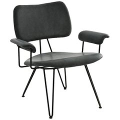 """""""Overdyed Reloaded"""" Lounge Chair in Birchwood and Steel by Moroso for Diesel"""