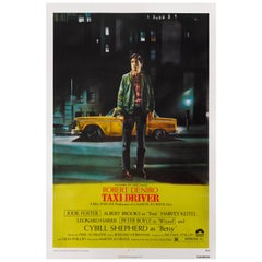 """Taxi Driver"" Original US Movie Poster"