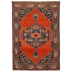 Fine Antique Senneh Large Rug