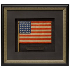 38-Star US Flag Waver, Parade-Style Flag