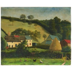 Early 20th Century Landscape, Naive School