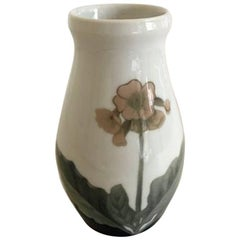 Bing & Grondahl Art Nouveau Vase with Flower