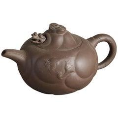 20th Century Yi Xing Dragon Tea Pot