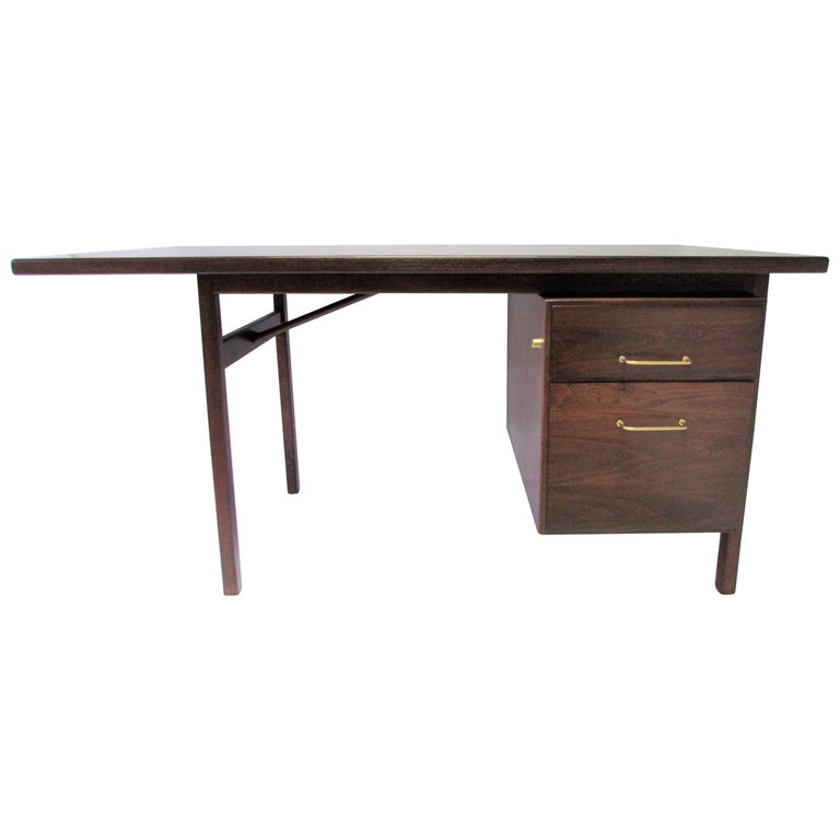 Executive Desk Attributed to Jens Risom