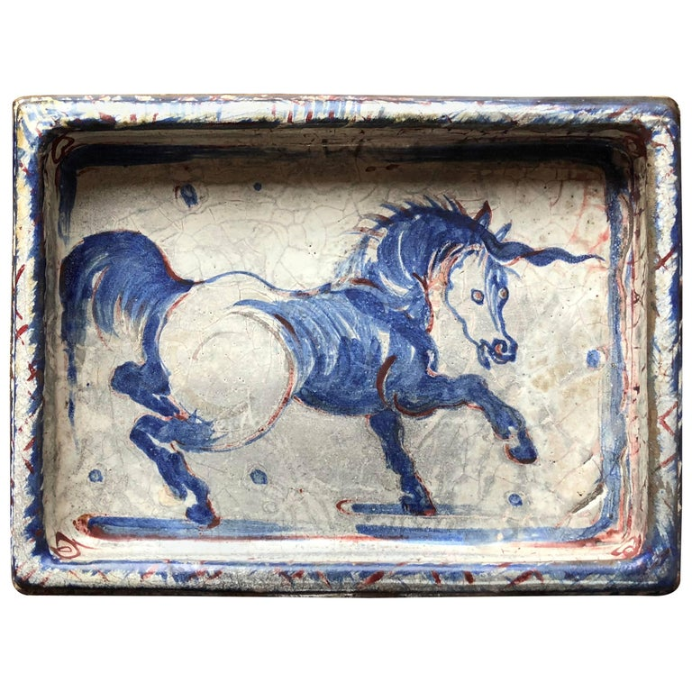 Continental Unicorn Dish Plaque