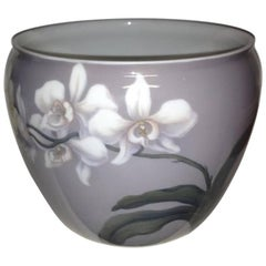 Bing & Grondahl Art Nouveau Vase/Flower Pot #7320/214