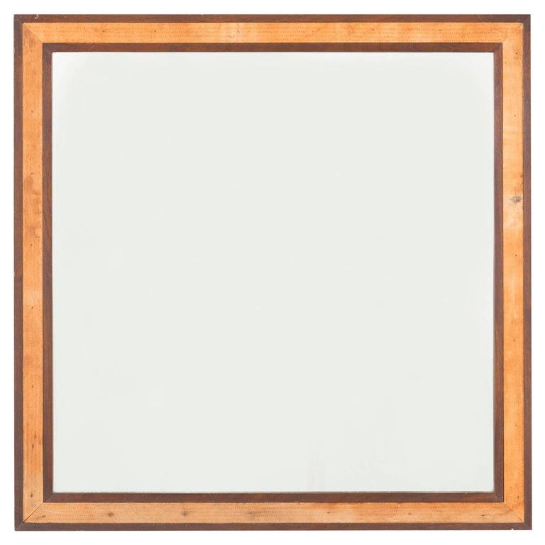 Mid-Century Modern Edward Wormley for Dunbar Mahogany Framed Mirror