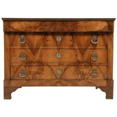 French Empire-Style Walnut Commode