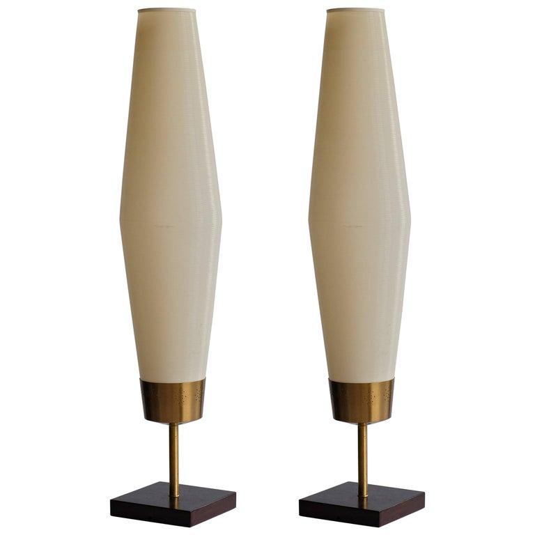 Pair of Heifitz Rotoflex Table Lamps