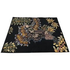 Modern Aubusson Tapestry Signed Lurcat