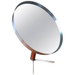 Steel and Teak Mid-Century Modern Dressing Mirror by Durlson Designs