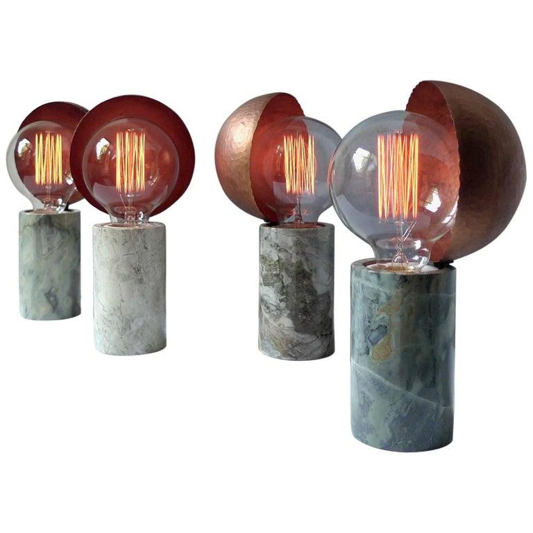 Marble Table Lamps, Sander Bottinga