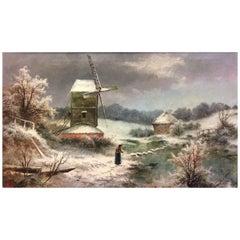 Edgar Longstaffe, 1852 -1933, Oil on Canvas