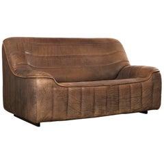 Vintage Swiss De Sede DS 84 Leather Sofa, 1970s