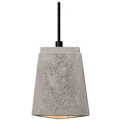 Three, Concrete Ceiling Lamp by Bentu Design