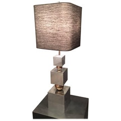 Huge Table Lamp Attributed to Romeo Rega
