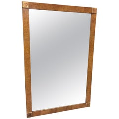 Neoclassical Revival Wood Framed Mirror