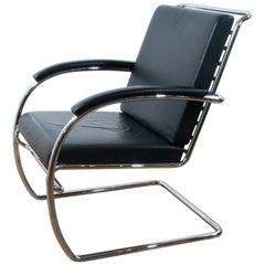 Thonet K147 Cantilever Lounge Chair Bauhaus Classic Designed, Anton Lorenz, 1930