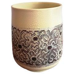 Jean Besnard Art Deco Ceramic Vase, circa 1932