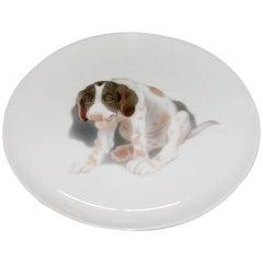 Bing & Grondahl Plate with Labrador Dog #3669/357-20