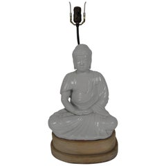 Blanc de Chin Buddha Lamp