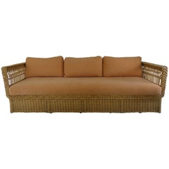 Bielecky Wicker Sofa