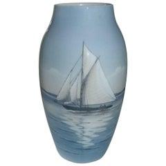 Bing & Grondahl Art Nouveau Vase #8552/243