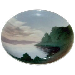 Bing & Grondahl Wall Plate with Motif from a Lake #3601/357-13