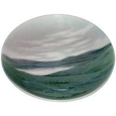 Bing & Grondahl Wall Plate with Landscape Motif #3490/357-13