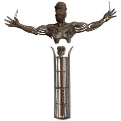 SecondSon4 Metal Sculpture by Dale Edwards