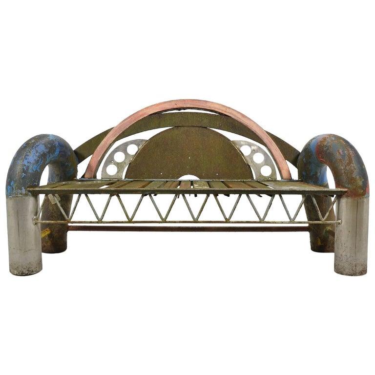 Gordon Chandler Bench Sculpture For Sale
