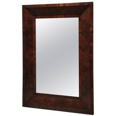 Rectangular Wooden Mirror, Probably circa 1890