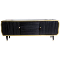 Iris Blackened Oak Limited Edition Credenza by Felice James, 2017
