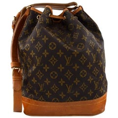 Louis Vuitton. Vintage Shoulder Bag. Monogram canvas. Model Noé.