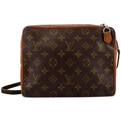 Louis Vuitton. Vintage men's bag. Monogram canvas.