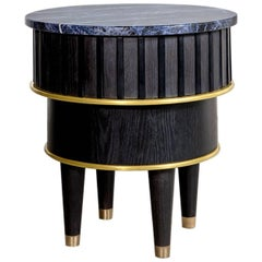 Greta Sodalite Side Table by Felice James, 2017