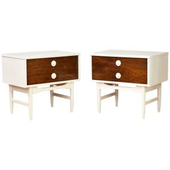 Pair of Mid-Century Modern Style Nightstands