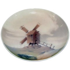 Bing and Grøndahl Wall Plate with Windmill #4218/357-18