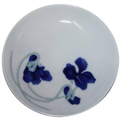 Bing & Grondahl Art Nouveau Plate with Flowers #3164