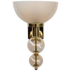 Torcia Oro Wall Sconce