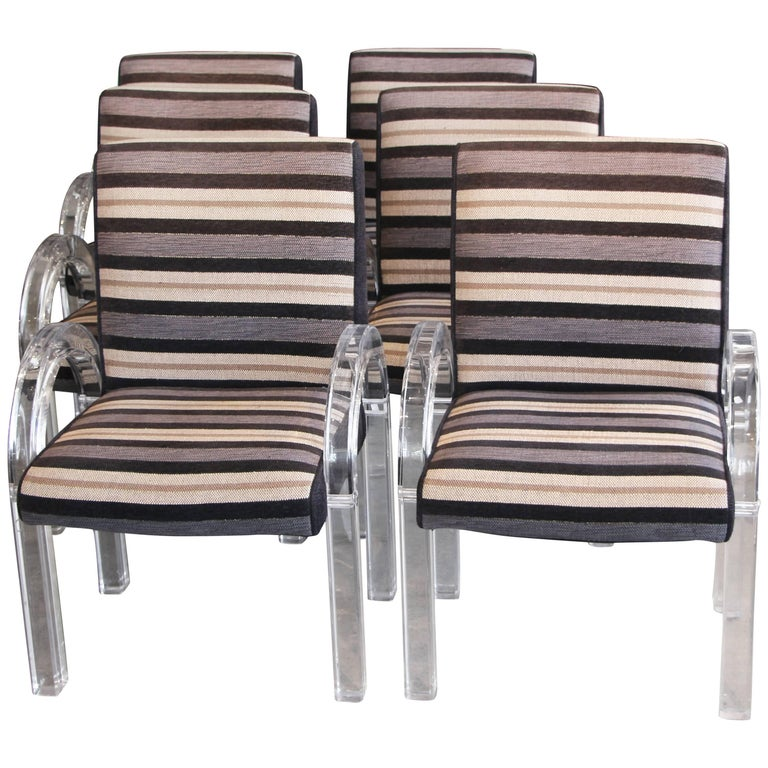 Set of Six Charles Hollis Jones Chairs