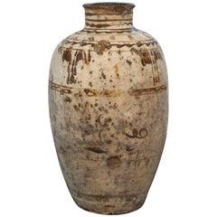 Cizhou Painted Yuan Dynasty Wine Vessel