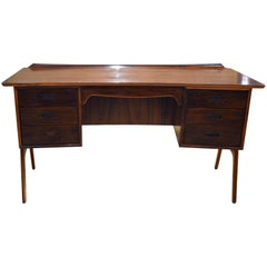 Mid-20th Century Danish Rosewood Desk by Svend and Madden
