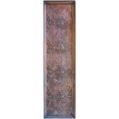Louis Sullivan Decorative Pane, 1893 Chicago Stock Exchange