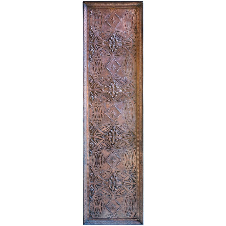 Louis Sullivan Decorative Panel, 1893 Chicago Stock Exchange
