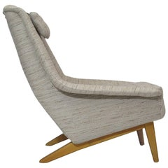 Folke Ohlsson for Fritz Hansen Lounge Chair in Knoll Fabric