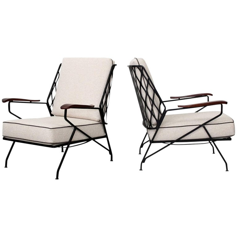 Salterini Lounge Chairs by Maurizio Tempestini For Sale