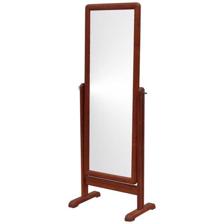 Danish Teak Full Lenght Mirror