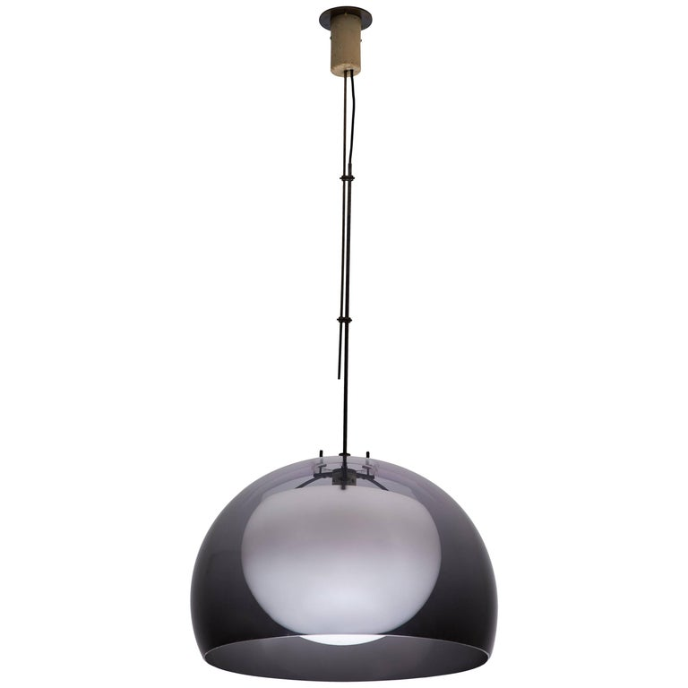 Pendant Lamp by Tito Agnoli for Oluce For Sale