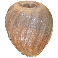 Larry Laslo Art glass Vase